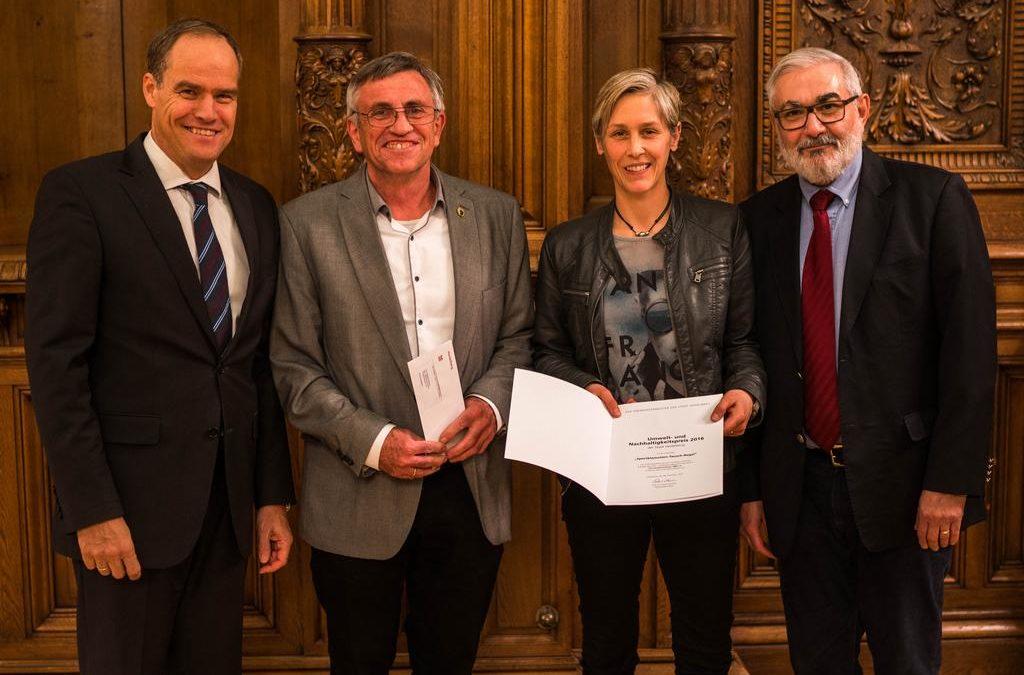 Preisträger beim Heidelberger Umwelt- und Nachhaltigkeitspreis